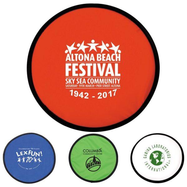 Promotional Frisbee Fold Up 17133